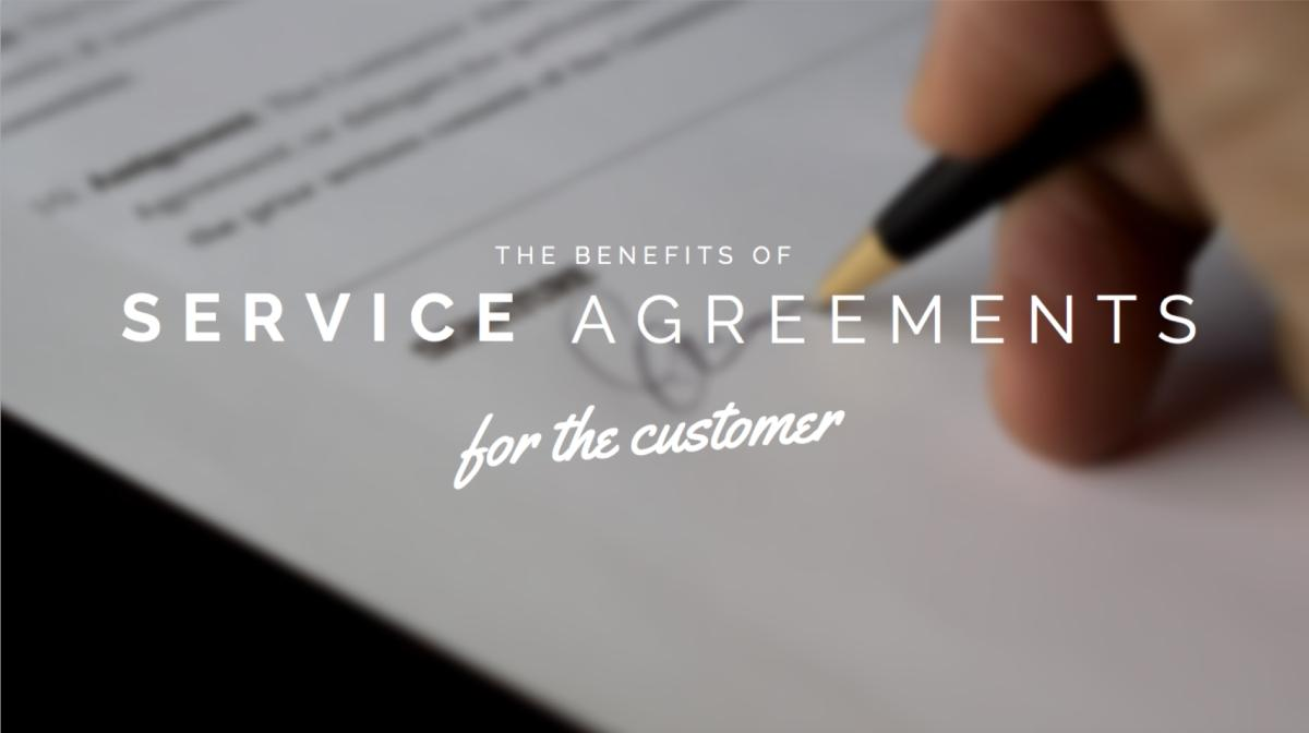 service agreement benefits