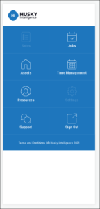 Mobile Application View